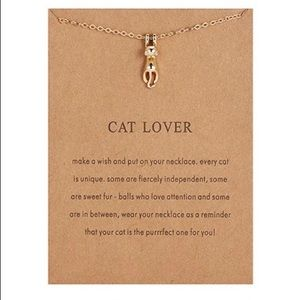 NEW!! ❤️ Cat Lover Necklace Pendant Necklace